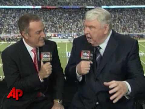 Broadcaster John Madden Calls It Quits