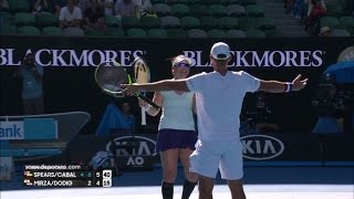 2017 Australian Open Mixed Doubles Final Highlights: S. Mirza/I. Dodig vs A. Spears/J. Cabal