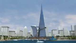 Dubai Tower part 1 -  3D Modeling by 3D Vision Co
