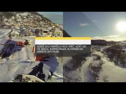 SOLGT Flyfoto og film: Skogveien56A Film 1 av 2 Hus til salgs