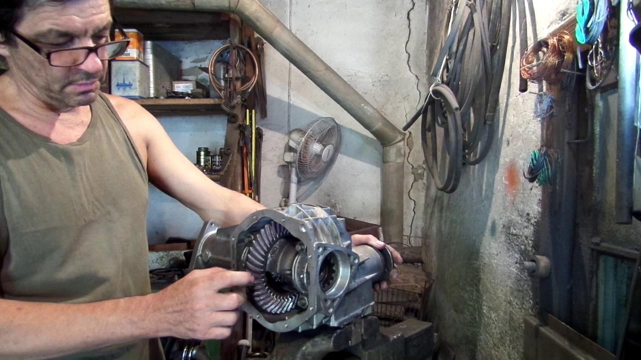 Ремонт переднего редуктора ВАЗ 21213 Нива