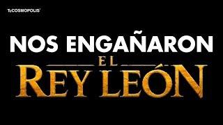 NOS ENGAÑARON LAS MENTIRAS de el REY LEÓN que ARRUINARÁN TU INFANCIA
