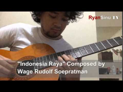 Indonesia Raya - Guitar Fingerstyle by Andryan Sinulingga