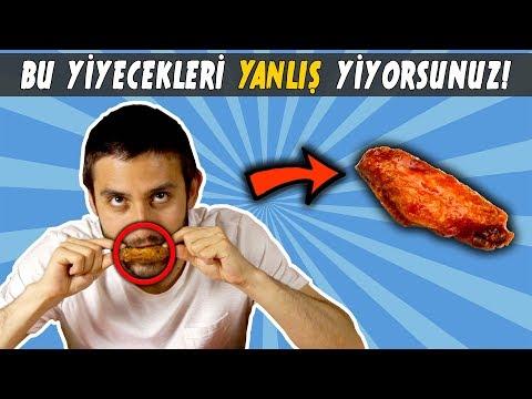 BU YİYECEKLERİ YANLIŞ YİYORSUNUZ!!!