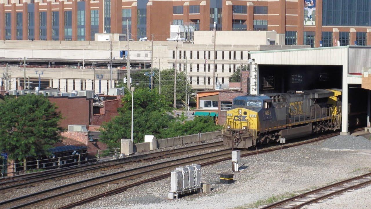 Garage Parking Stop >> 6/24-25/2016 Railfanning at the Indianapolis Amtrak Union ...