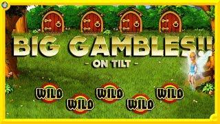 HUUUUUUGE Gambles Slot Session on TILT !!!