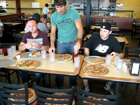 cici s pizza eating competition part 1 youtube