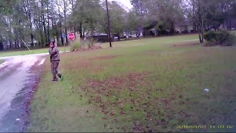 Estill, South Carolina, officer's camera captures shooting