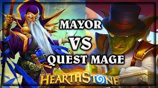 Mayor VS Quest Mage ~ Knights of the Frozen Throne Expansion Hearthstone Heroes of Warcraft