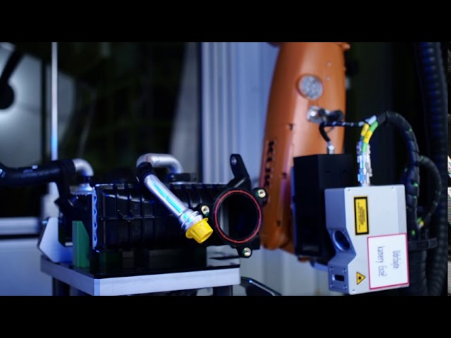 Kolektor Vision - Adaptive robotic cell for quality inspection