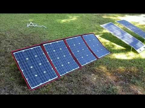Dokio Solar Panels Foldable Solarpanelsi