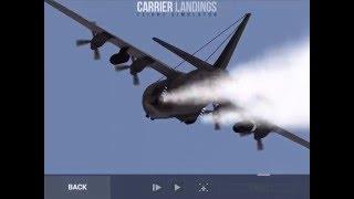Carrier Landings C130 Jato takeoff