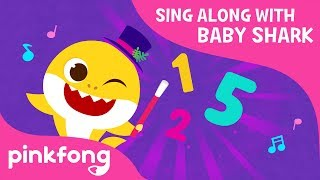 Baby Shark 1 to 5 | Sing Along with Baby Shark | Pinkfong Songs for Children