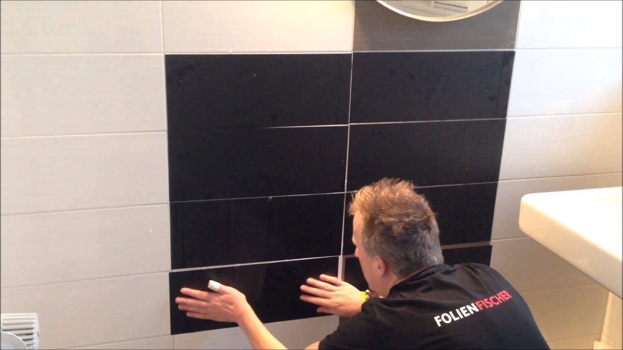 folienfliesen montage aus hamburg bergedorf youtube. Black Bedroom Furniture Sets. Home Design Ideas