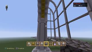 (UK) Ep#1 MINECRAFT BRAND NEW CASTLE / PALACE MEGA BUILD PROJECT  Live Stream PS4 Now.