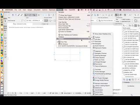 ArchiCAD 21 standard template - YouTube