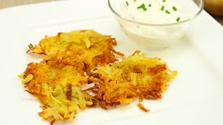 Hash Browns / Hashed Brown Potatoes (amerikanische Rösti-variante)