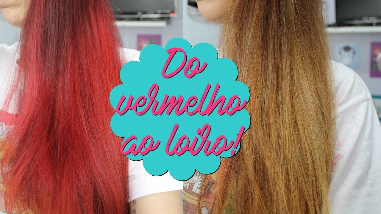 Download Do vermelho ao loiro SEM descolorir e ESTRAGAR! | Out Color, Leads Care