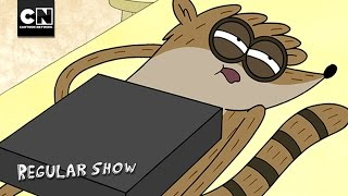 Old Man VHS Hand | Regular Show | Cartoon Network
