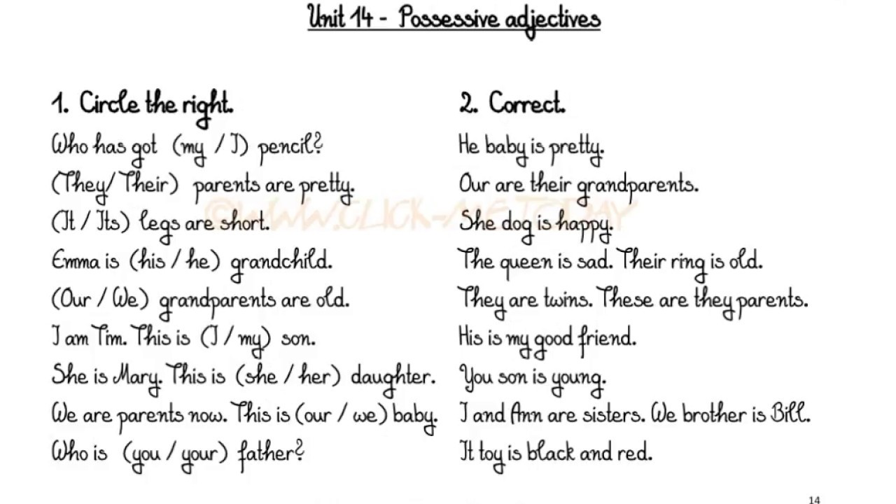 Worksheets. Free Printable Grammar Worksheets. Opossumsoft ...