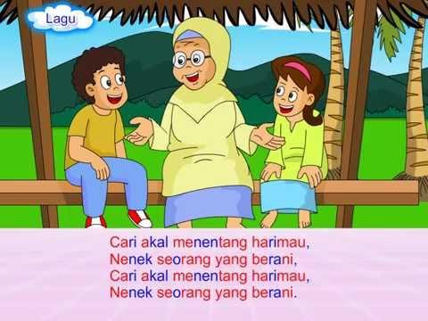 Nenek Berani (Bahasa Malaysia Programme by Q-dees)