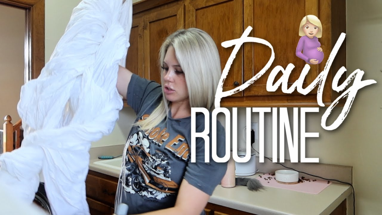 MY NORMAL DAILY ROUTINE RIGHT NOW! YAYA IS HERE! Aaryn Williams Vlog