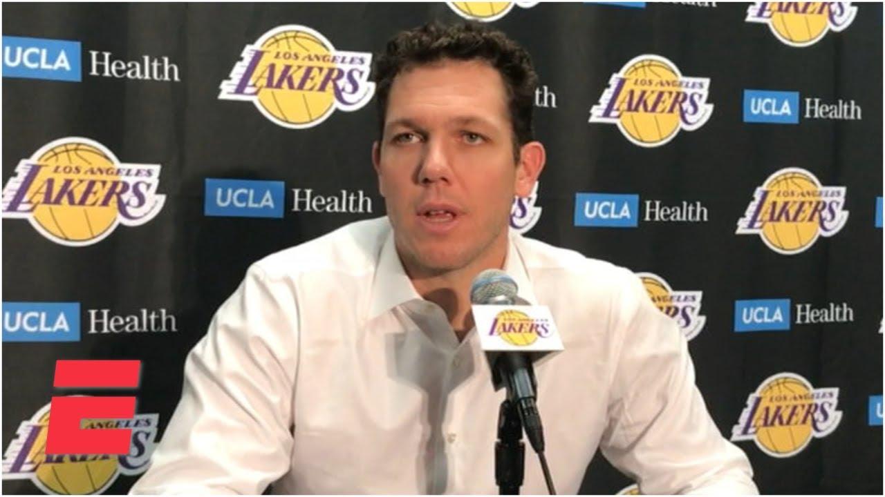 Luke Walton calls Lakers' loss to Cavs 'frustrating'   NBA Sound