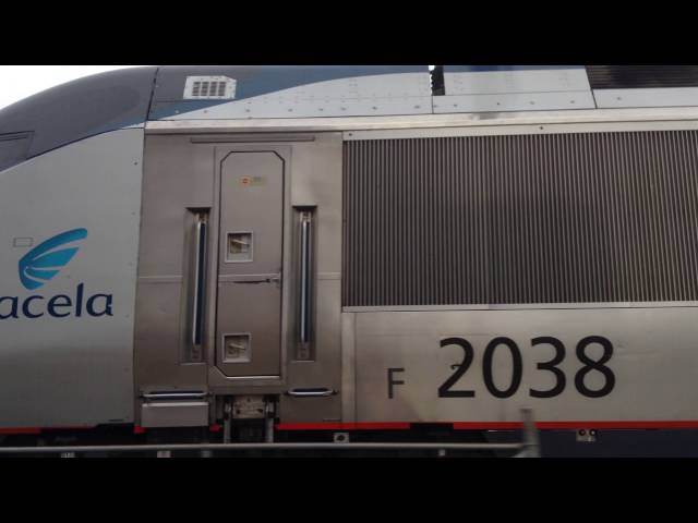 Acela Express 2256 - New London, CT