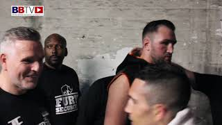 HUGHIE FURY: BEHIND THE SCENES FOOTAGE AND RING WALK FOR NORRAD FIGHT