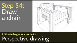 how to draw a chair by miandza
