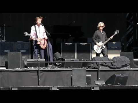 Paul McCartney - Honey Don't / Blue Suede Shoes (SOUNDCHECK in München, 10.06.2016)