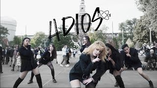 [KPOP IN PUBLIC IN ITALY] M2B - EVERGLOW (에버글로우) _ Adios (아디오스) Dance Cover
