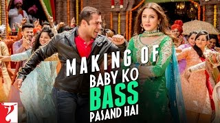 making of baby ko bass pasand hai song sultan salman khan anushka sharma
