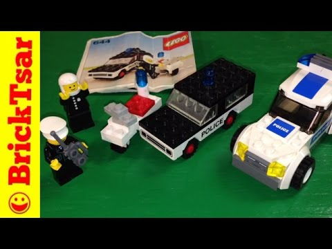 Classic Town LEGO 644 Police Mobile Patrol from 1978! Vintage set review