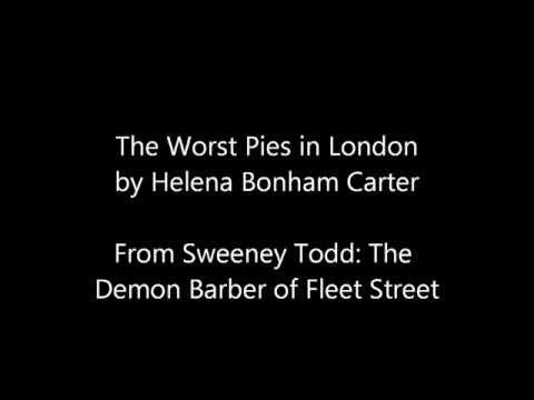 Sweeney Todd The Worst Pies in London-Lyrics On Screen