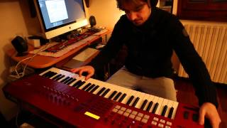 """How to play """"The Cinema Show"""" Keyboard Solo (Genesis)"""