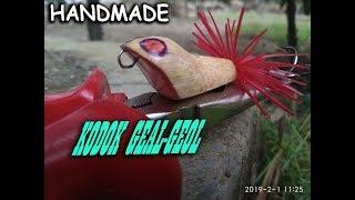 Download Video Cara Membuat Jump Frog WTD Auto Geol | Handmade Jump Frog Lure MP3 3GP MP4