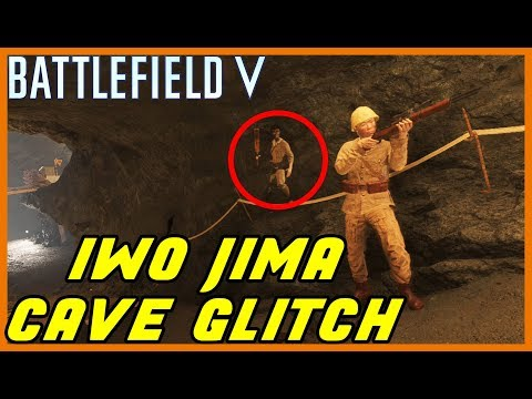 battlefield-5-glitches-|-iwo-jima-cave-glitch-(inside-walls/under-map)---working