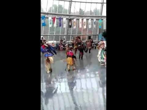 Mens all age Smoke Dance Song 1- Mashantucket Pequot Vets Powwow 2015