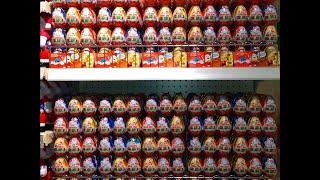 Новые Киндеры Сюрпризы Где Купить Киндер Макси на Новый год? ( Unboxing Kinder Surprise Eggs )