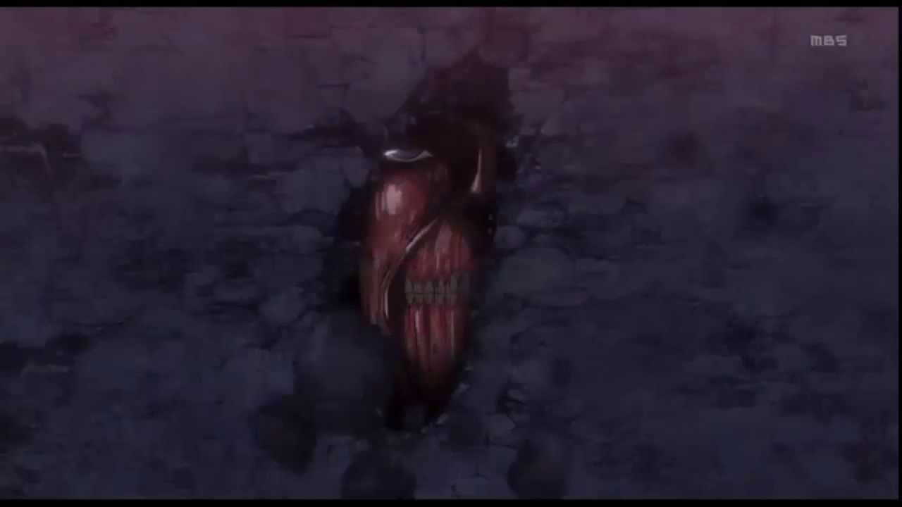 Attack On Titan Season 1 Ending Cliffhanger - YouTube