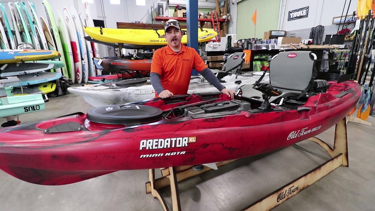 Nautical Ventures | Old Town Predator PDL Kayaks - YouTube