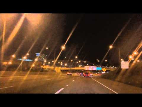 Driving into Downtown - Chicago Illinois