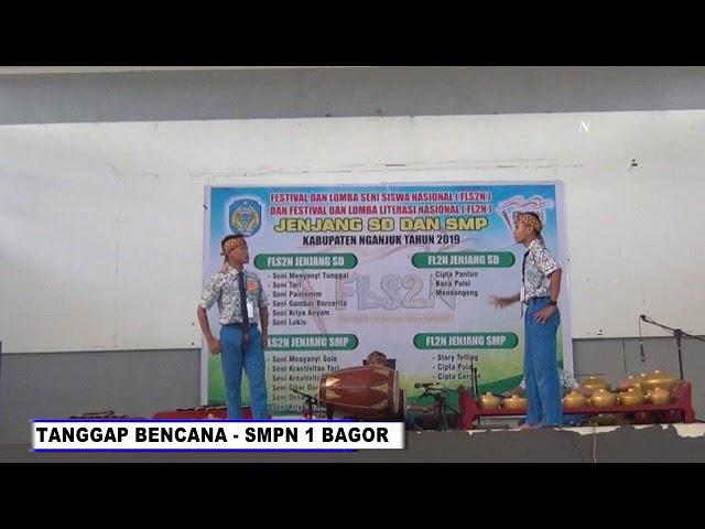 MUSIK TRADISIONAL KREASI_SMPN 1 BAGOR  _TANGGAP BENCANA