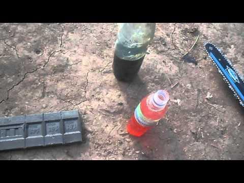 Как разбавлять бензин с маслом для двух тактных моторов
