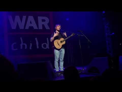 Ed Sheeran - Supermarket Flowers (Live for Warchild @ Indigo O2, London)