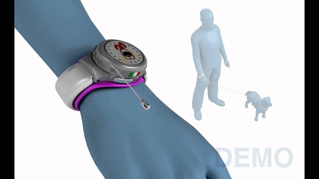 Bobo: wrist retractable leash - YouTube