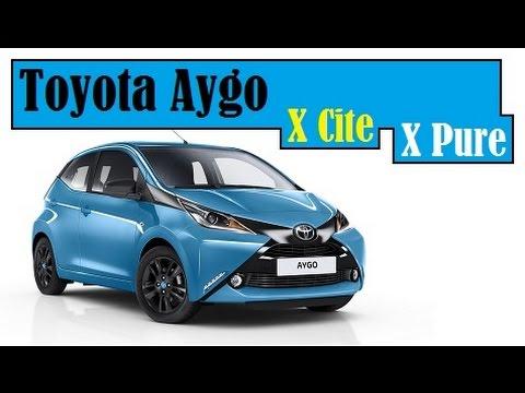 Toyota Aygo X-Cite & New Toyota Aygo X-Pure, in UK starting price from £11,295