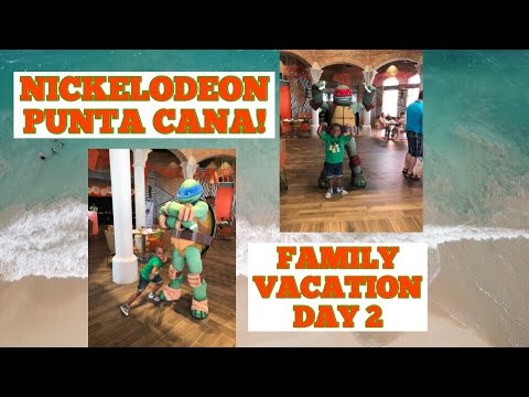 Nickelodeon Resort: Punta Cana Family Vacation DAY 2