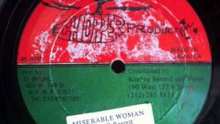 "Lionel G Barrett- Miserable Woman 12"""